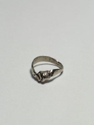 Nudo - Anillo en plata 925