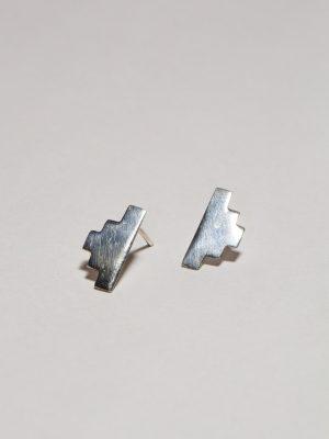 Escalera - Arete plata 950