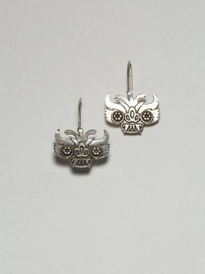 Diablada - Aretes en plata 925