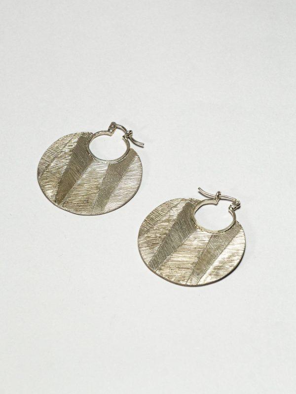 Luna - Argollas en plata 925