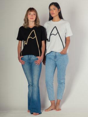 Montaña - T-shirt De Algodón Pima