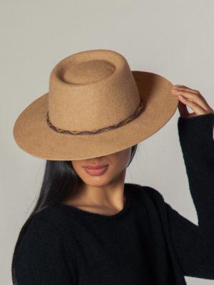 Aspen Hat N.2 - Sombrero De Alpaca