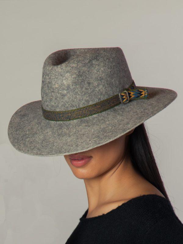 Aspen Hat N.4 - Sombrero De Alpaca
