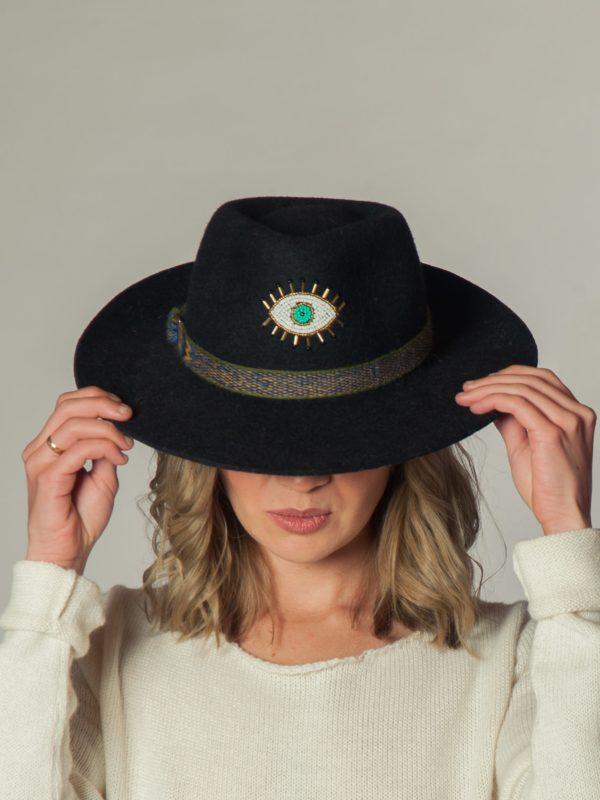 Eye Hat - Sombrero de Alpaca