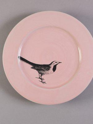 Pájaro De Cola - Plato 25 cm