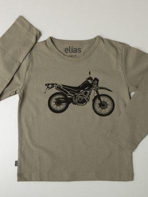 Moto - Polo niño manga larga