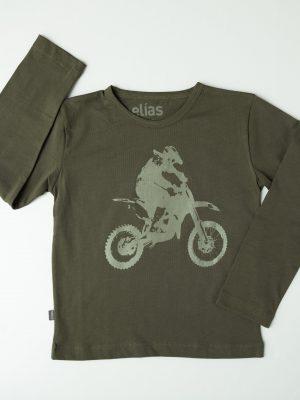 Motociclista - Polo niño manga larga