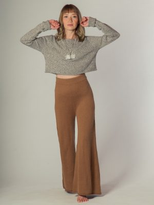 Motion 37 - Crop sweater de alpaca