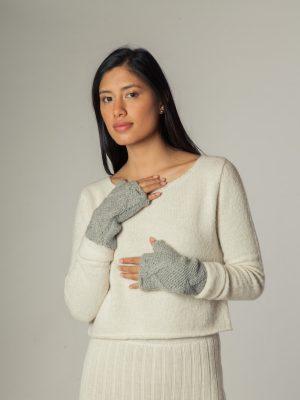 Iya Hands 2 - Mitones de alpaca