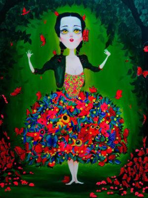Yma Sumac - Grabado De Obra