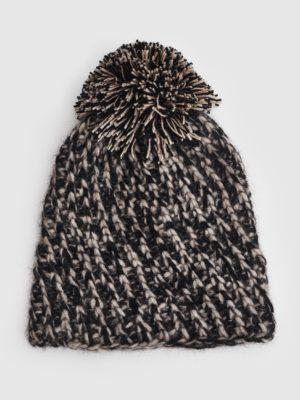 Beanie knit - gorro tejido de alpaca