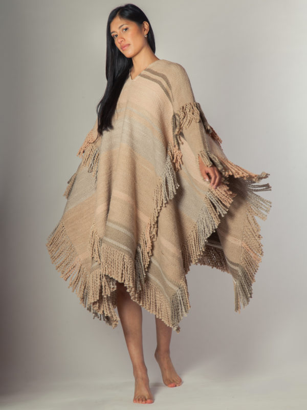Poncho Wawa - Poncho de algodón